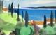 "Slika ""Pogled na otok"""